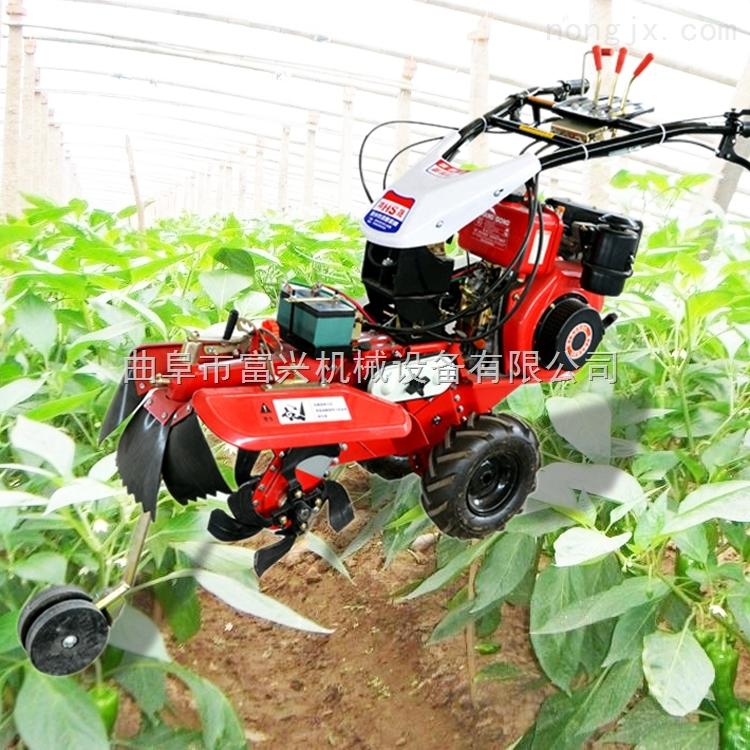 田園管理機 溫室大棚小型開溝培土機價格