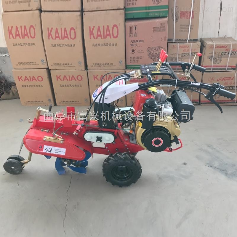 小型旋耕管理机小型大葱种植开沟培土机
