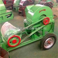 500|600型双口木材粉碎机废木料原木锯末机