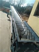 可升降式输送机报价 大倾角皮带传送机