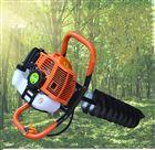 树木种植挖坑机汽油钻洞机电线杆打眼机