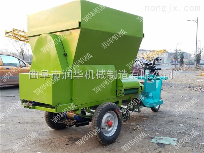 牛场专用优质撒料车 厂家直销定做喂料车