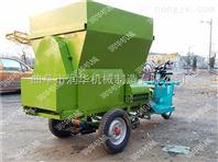 可定做多容积撒料车 农用三轮喂料车图片