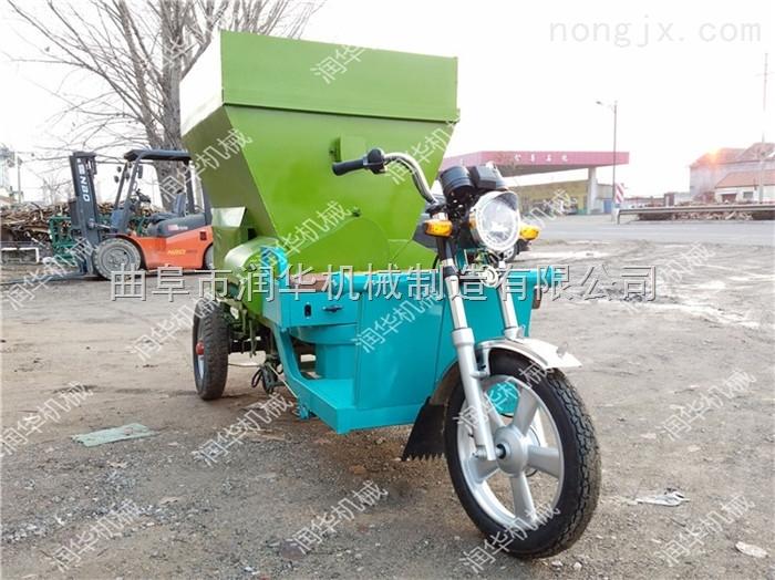 根据要求定做多容积撒料车 柴油喂料车