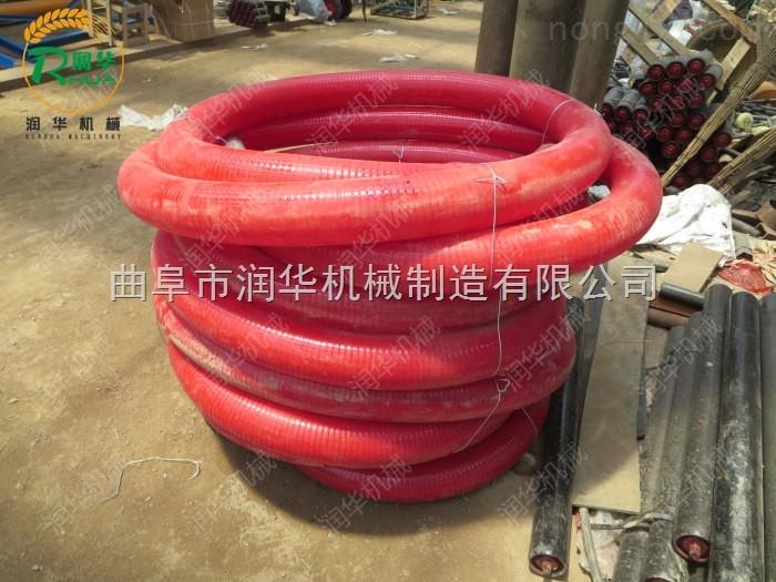 加厚牛筋软管吸粮机 耐磨耐用抽粮机价格