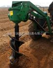 拖拉机植树挖坑机 快速高效栽树打坑机