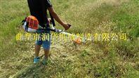 四冲程背负式割草机 秸秆牧草收割机图片