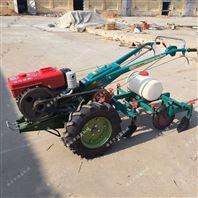 农用起垄喷药覆膜机 花生收获施肥喷药机