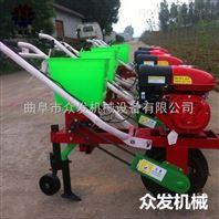 双行手推式玉米播种机