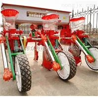 四轮施肥玉米精播机 拖拉机带动播种机
