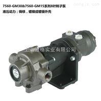 7560-GM30和7560-GM15系列8叶转子泵