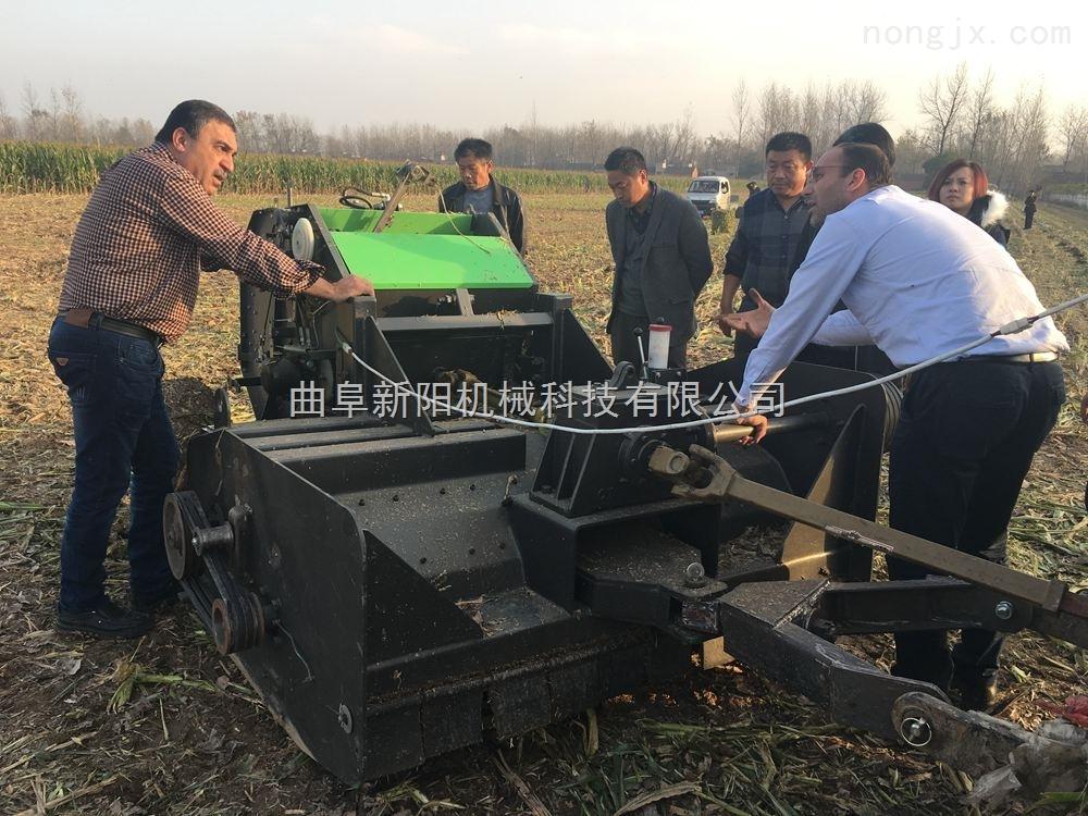 吉林省玉米秸秆粉碎打捆机