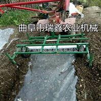 土豆播种覆膜机 喷药施肥覆膜一体机