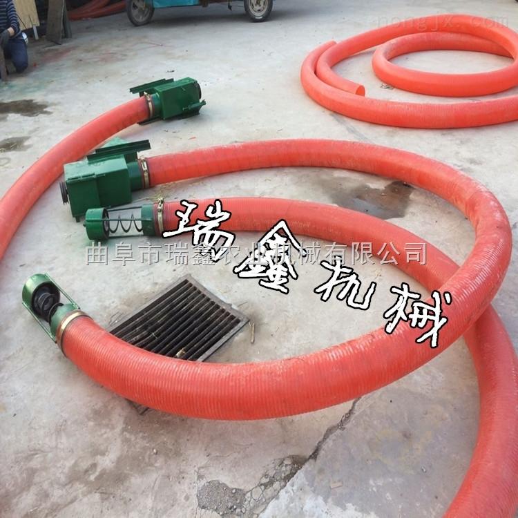 螺旋吸粮机价格 小型车载式悬挂输送机