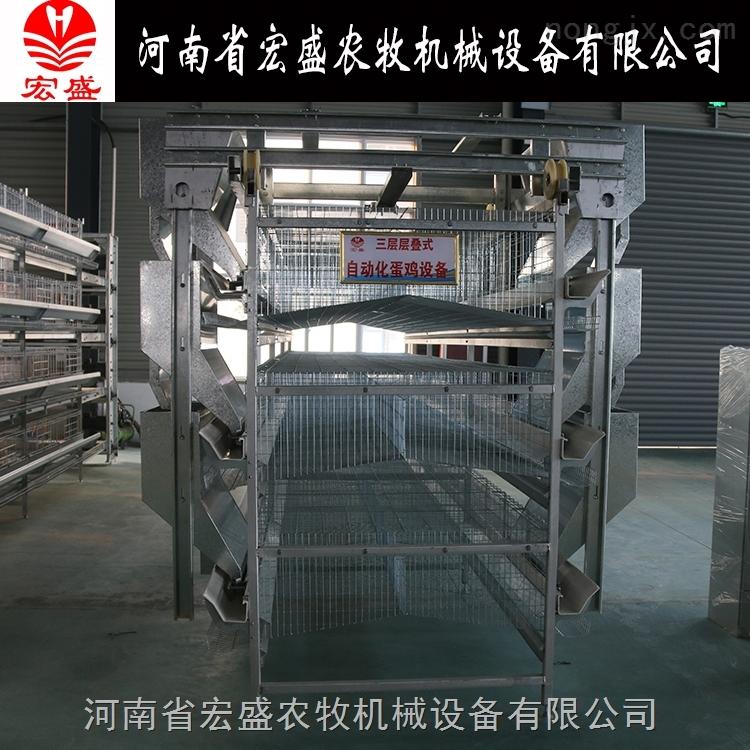 厂家直销蛋鸡行车式上料机自动化养鸡设备