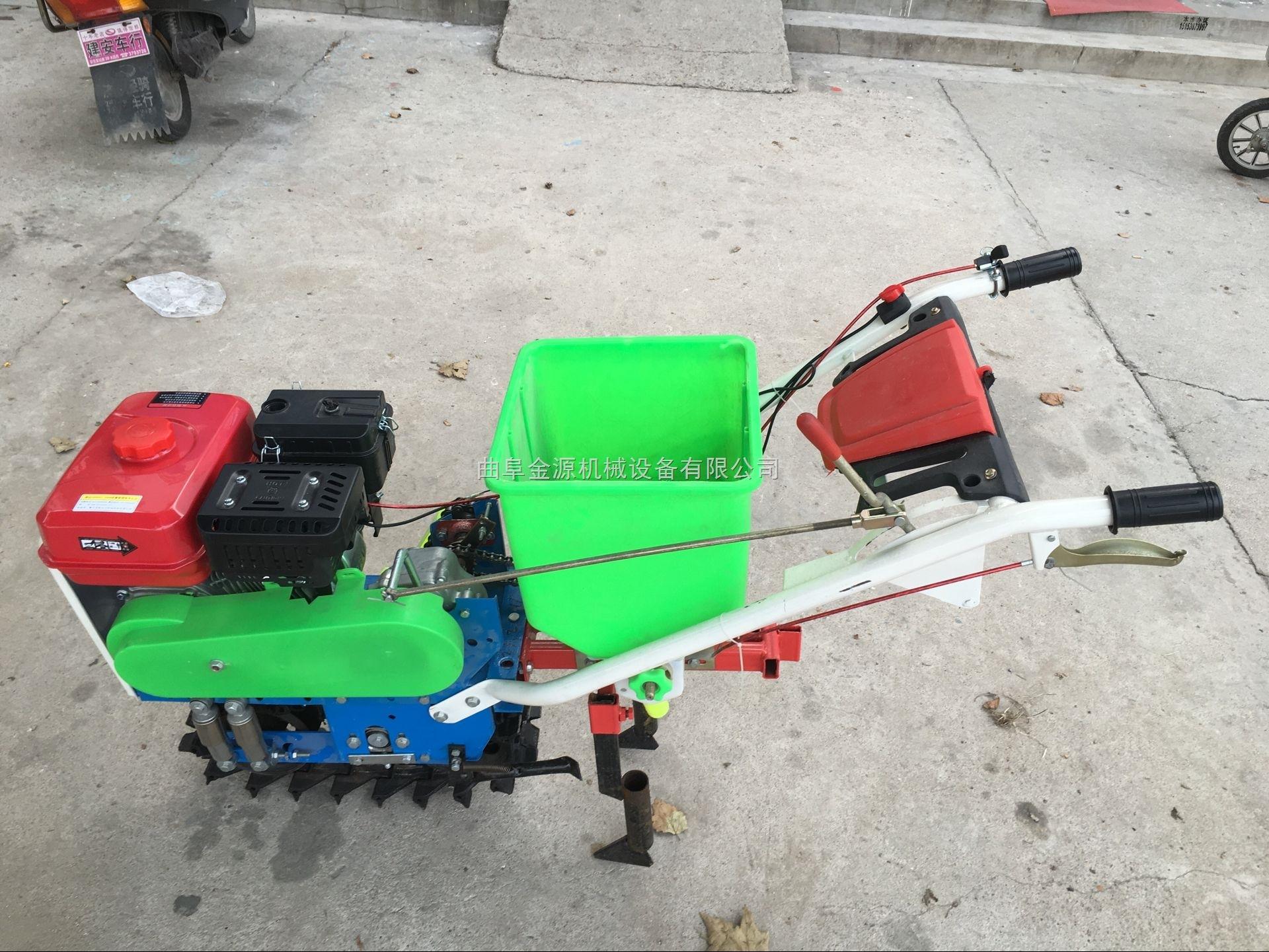 单粒下种蔬菜播种机 人工精密汽油精播机