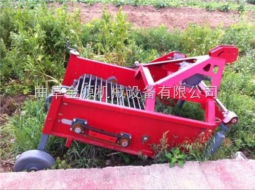 拖拉机带土豆收获机 多功能红薯除秧收割机
