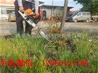 链条移植挖树机
