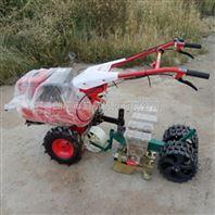 拖拉机带娃娃菜精播机 菜种子桔梗播种机