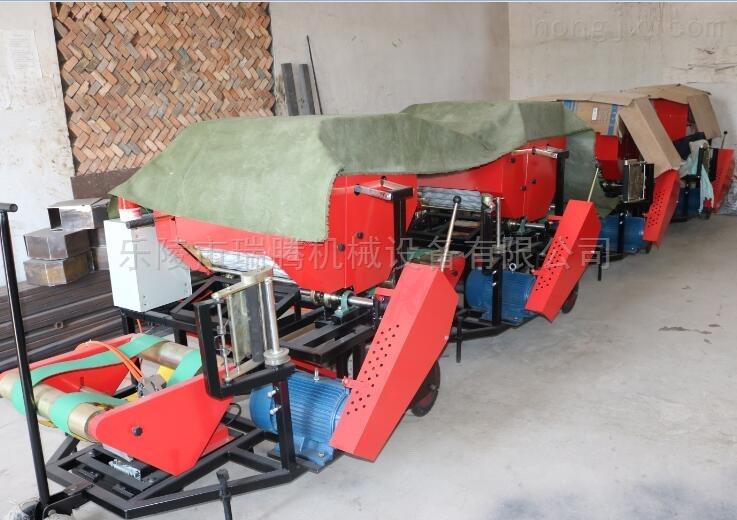 供应先进青贮打捆机 多功能秸秆打捆包膜机