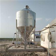 环保材质山东无棣鲁兴养殖设备储料塔