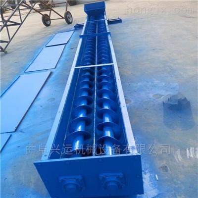 猪饲料倾斜输送机 多用途管式螺旋输送机专卖y2