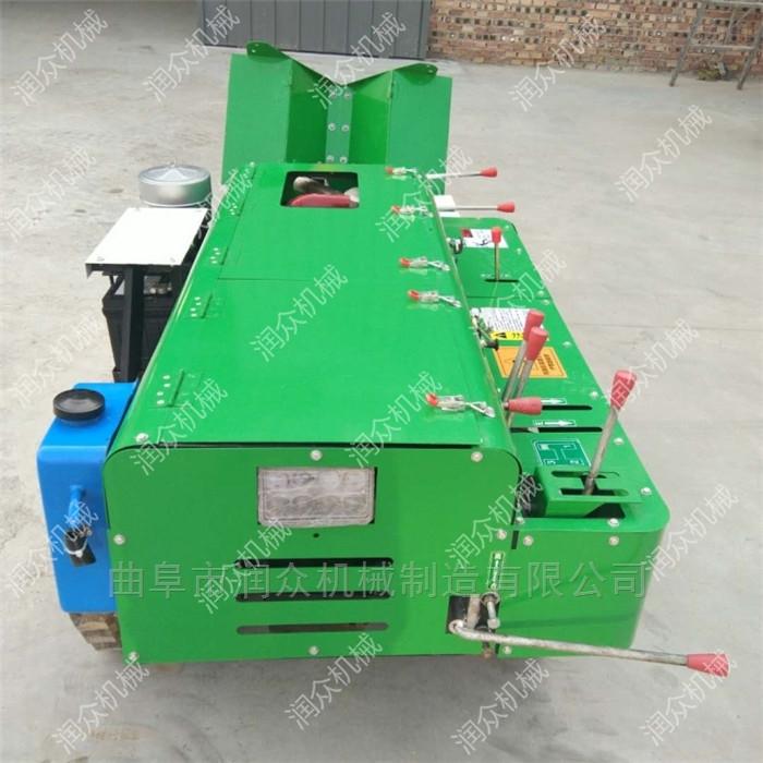 大型多功能的果园开沟施肥机 履带式微耕机
