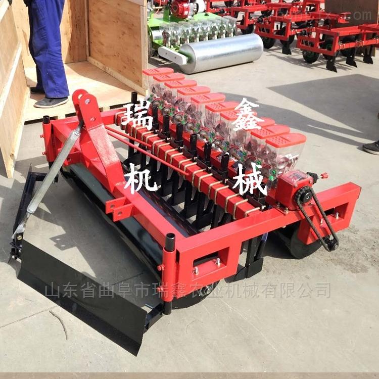 菠菜施肥播种机 拖拉机带玉米播种施肥机