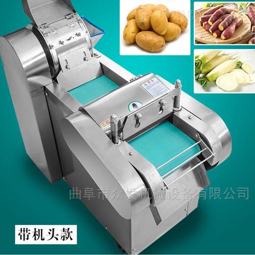 果蔬加工设备 供应不锈钢土豆脱皮切丝机