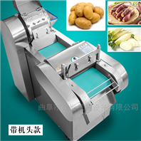 高产量全自动果蔬切丝机 切片机斜切效果好