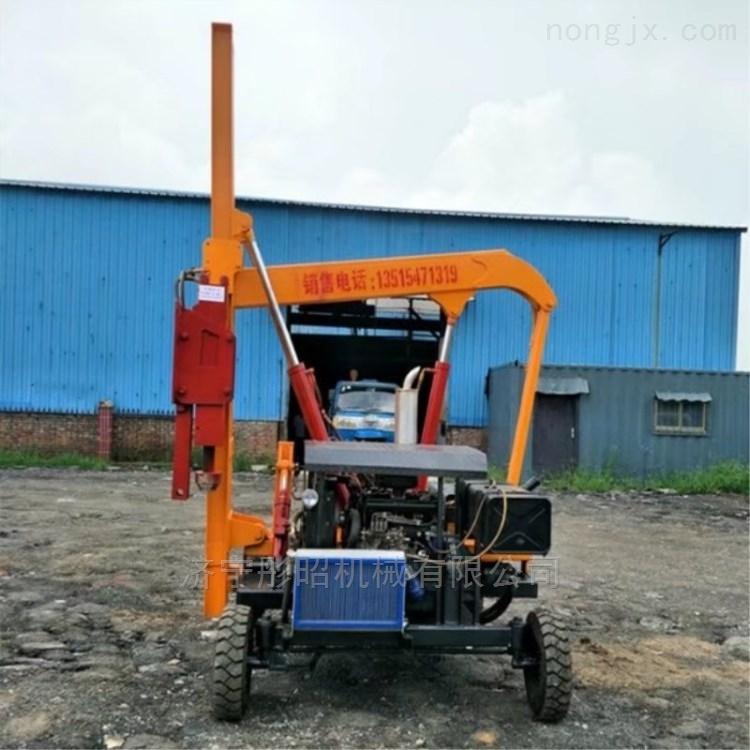高速公路护栏钻孔机生产厂家小型打桩机