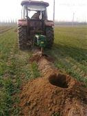 80拖拉机悬挂式挖树洞机