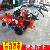 大连质优价廉施肥翻耕机 葱姜多用途管理机