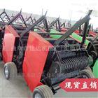 JD8050拖拉机行走式圆捆机 秸秆捡拾打捆机价格