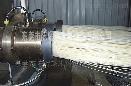 莆田特色美食之兴化米粉生产线