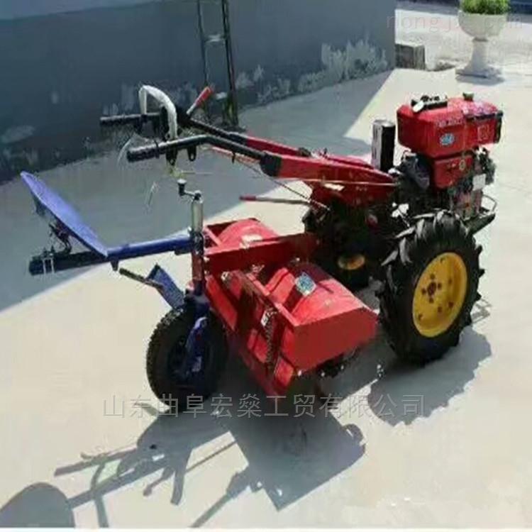 手扶旋耕机 常州动力手扶拖拉机犁地机