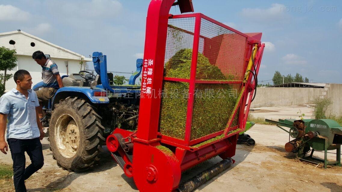 青饲料收获机 苞米秸秆回收机