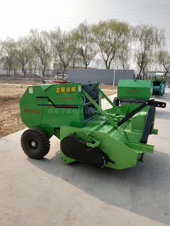 玉米秸秆粉碎捡拾打捆机 玉米秸秆打包机价格