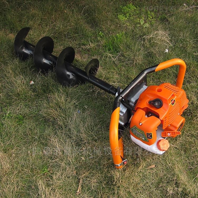 螺旋式挖坑植樹機 大馬力輕便鑽眼機視頻