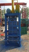100吨加固型垃圾下脚料手动液压打包机立式