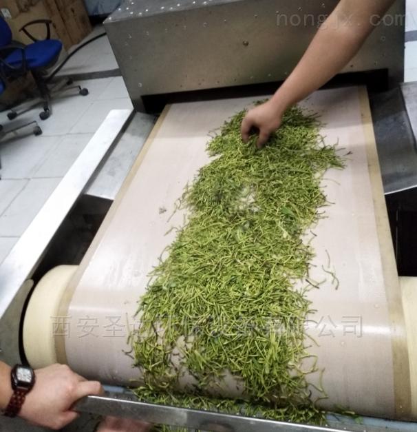 绿茶杀青机微波茶叶钝化设备