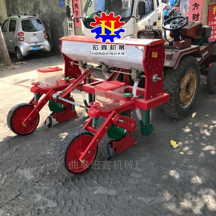 玉米大豆油葵精播机 四轮车带播种机厂家
