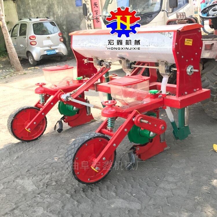 玉米免耕播种机 免间苗施肥精播机厂家