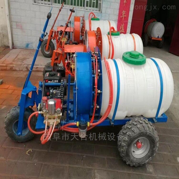 西平县高压汽油机动喷雾器大容量四轮打药车