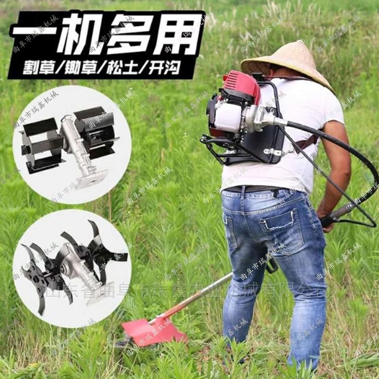靈活小型農田除草機 高效背負式割草機