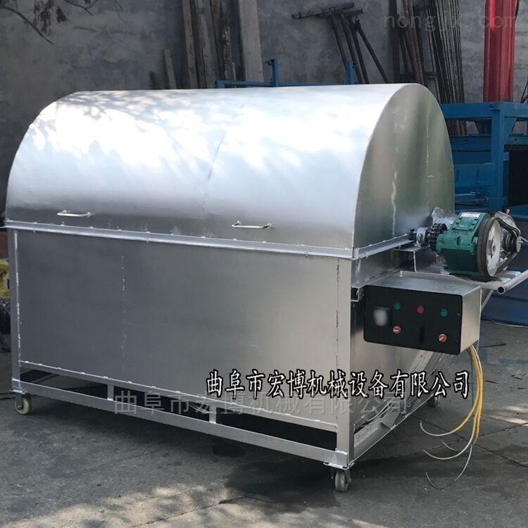 花生黄豆加工设备 小型电瓶炒货机