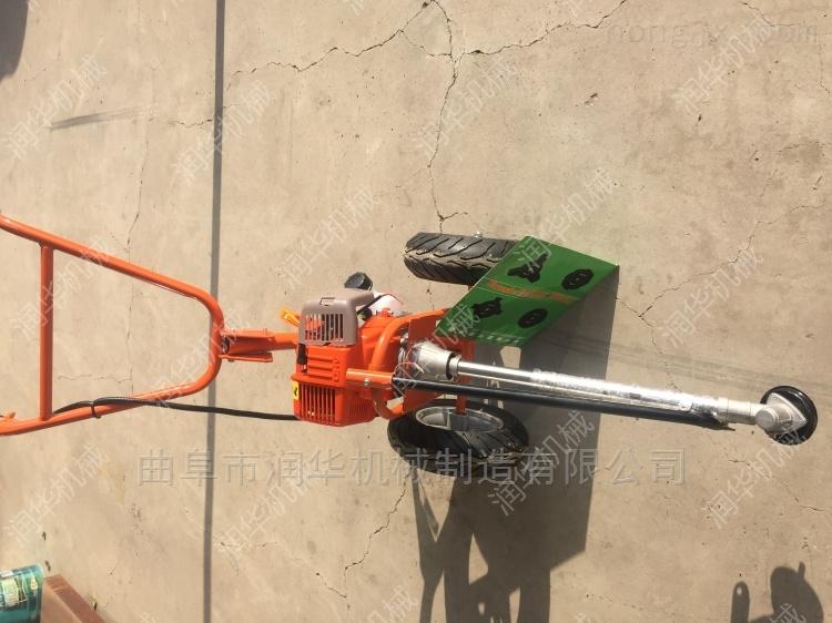 高效耐用的汽油割草机 秸秆牧草小型收割机