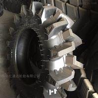 拖拉机水田泰山轮胎高花人字轮胎