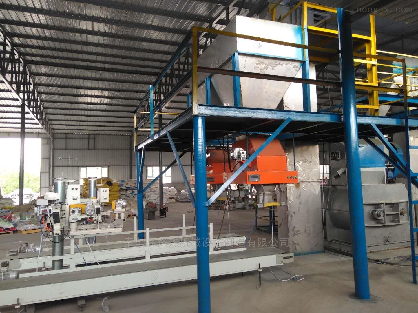 阿克苏水溶肥设备调试成功粉状肥生产设备
