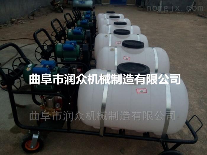 RZ-GYPWQ-100-大棚打药机 汽油高压喷雾器 三轮打药车